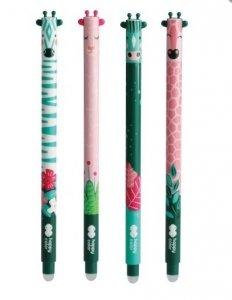 4x Długopis AFRYKANKI wymazywalny żelowy 0,5 mm HAPPY COLOR (39447)