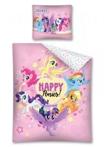 Komplet pościeli pościel My Little Pony Kucyki 160 x 200 cm (MLP48)