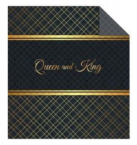 Narzuta na łóżko 220 x 240 cm Queen & King (WZ.K015)