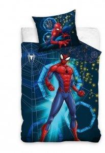 Pościel bawełniana Spiderman 160 x 200 cm komplet pościeli (SM205003)