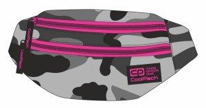 SASZETKA NERKA CoolPack na pas torba MADISON moro z różowymi dodatkami, CAMO PINK NEON (92777CP)