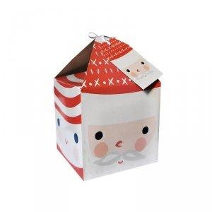 Pudełko prezentowe świąteczne na prezent 4 szt. MIKOŁAJ Incood. (0115-0008)