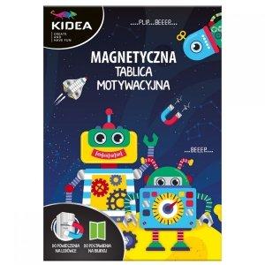 TABLICA MOTYWACYJNA magnetyczna Roboty KIDEA (TMMBKA)