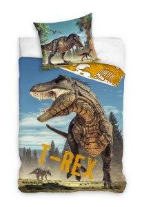 Pościel bawełniana Jurassic World DINOZAUR 140 x 200 cm komplet pościeli (TREX181001)