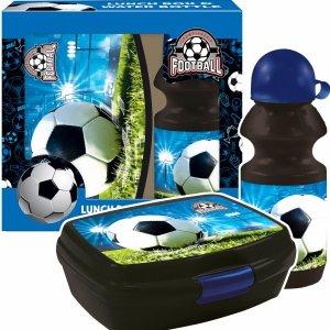 Zestaw bidon i śniadaniówka w kartoniku FOOTBALL Piłka nożna (ZSBPI16)