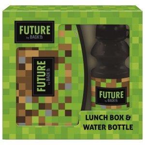 Zestaw bidon i śniadaniówka w kartoniku GAME dla fana gry MINECRAFT (ZSBDF18)