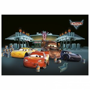 Podkład oklejany na biurko Cars Auta, licencja Disney (POCA46)