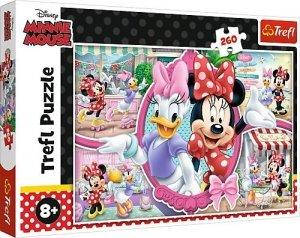 TREFL Puzzle 260 el. Myszka MINNIE Wesoły dzień Minnie (13263)