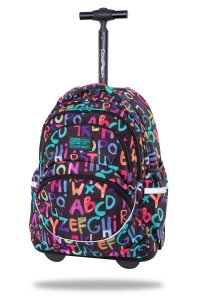Plecak CoolPack STARR 27 L na kółkach alfabet, ALPHABET (C35236)