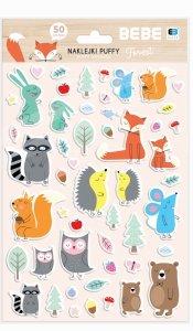 Naklejki wypukłe PUFFY BB Kids Pastel 50 szt (99611)