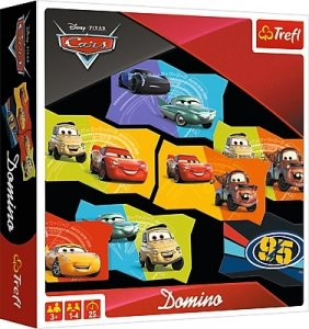 TREFL Gra pamięciowa DOMINO Auta CARS (01599)
