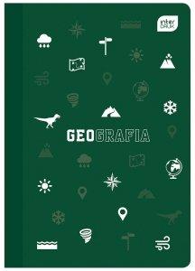 Zeszyt tematyczny przedmiotowy A5 60 kartek w kratkę z polipropylenową okładką GEOGRAFIA (94005)