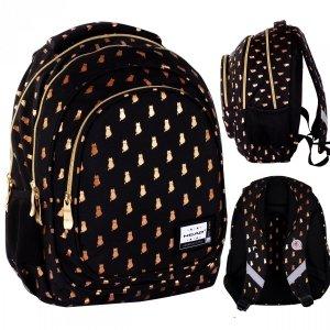 Plecak wczesnoszkolny HEAD 16 L kotki, GOLDEN KITTY (502021564)