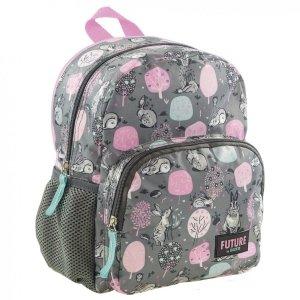 Plecak przedszkolny wycieczkowy w króliczki, RABBIT BackUP (PL11BDF14)
