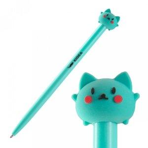 Długopis automatyczny z figurką KIDEA Kotek (DAFBKAD)