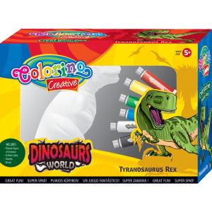 Zestaw do malowania Tyranozaur COLORINO (91398)