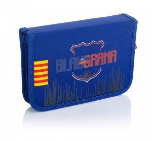 Piórnik pojedynczy FC BARCELONA bez wyposażenia FC-235 (503019002)