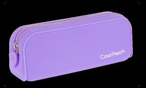 Piórnik saszetka silikonowa Pastel CoolPack Fioletowy (88208)