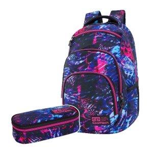 ZESTAW 2 el. Plecak CoolPack VANCE 20 L tropikalny sen, TROPICAL DREAM (C37146SET2CZ)
