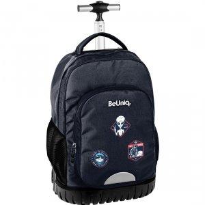 Plecak szkolny, młodzieżowy na kółkach kosmici, UFO Paso (PPUF20-1231)