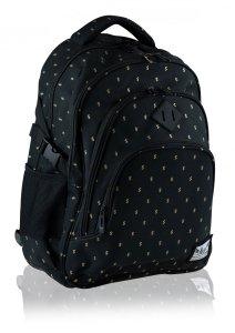 Plecak szkolny HASH 27 L dolary, GOLD DOLLARS (502020062)