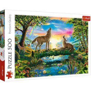 TREFL Puzzle 500 el. Wilcza natura (37349)