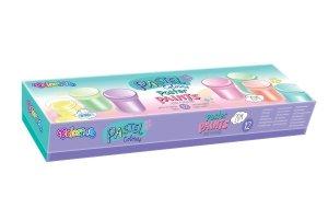 Farby plakatowe pastelowe 12 kolorów Colorino (87812PTR)