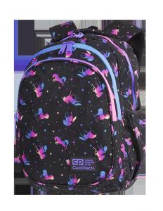 Plecak CoolPack JERRY 21 L jednorożce, DARK UNICORN (C29234)