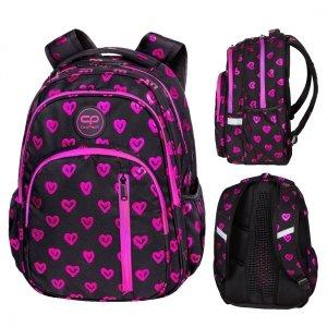 Plecak CoolPack BASE 27 L serca, ELECTRA HEARTS (D027334)