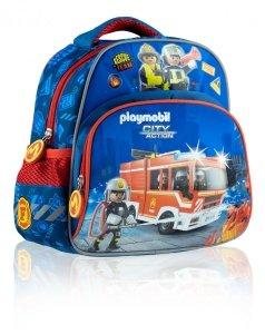 Plecak przedszkolny wycieczkowy PLAYMOBIL Strażak PL-01 (502020012)