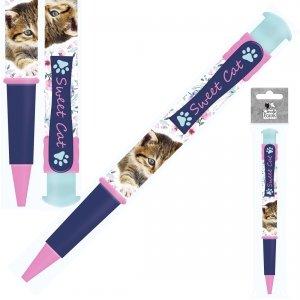 Długopis JUMBO 19 cm CLEO & FRANK Kotek (DJBCF22)