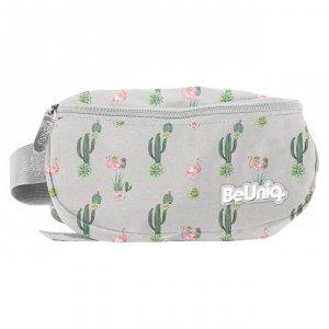 Saszetka na pas torba nerka kaktusy i flamingi, WEST Paso (PPWE20-510)