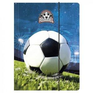 Teczka rysunkowa A4 z gumką FOOTBALL Piłka nożna (TGA4PI16)