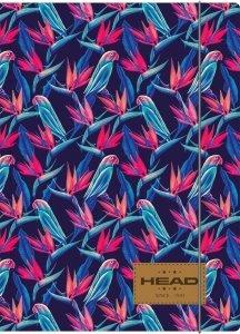 Teczka rysunkowa A4 z gumką HEAD w papugi, PARROTS HD-379 (108019010)
