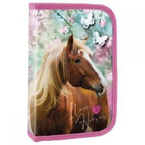Piórnik z wyposażeniem I LOVE HORSES Konie (PWJKO19)