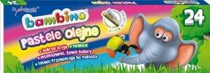 Pastele olejne BAMBINO 24 kolory (03127)