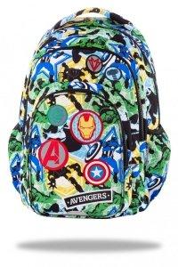 Plecak CoolPack SPARK z naszywkami, AVENGERS BADGES (B46308)