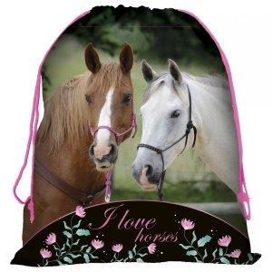 Worek na obuwie I LOVE HORSES Konie (WOKO20)