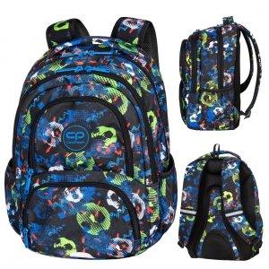 Plecak CoolPack SPINER 24 L piłka nożna, FOOTBALL BLUE (D001336)