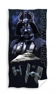 Ręcznik plażowy kąpielowy STAR WARS Darth Vader 70 x 140 cm (SW20701)