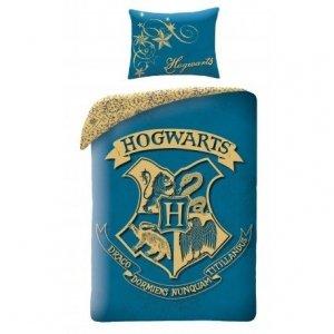 Pościel bawełniana Harry Potter 140 x 200 cm (HP-8089BL)
