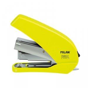 Zszywacz 9 cm Energy Saving ACID MILAN neonowy żółty (191071Y)