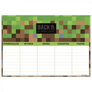 Plan lekcji BackUP GAME dla fana gry MINECRAFT (PLNB4A68)