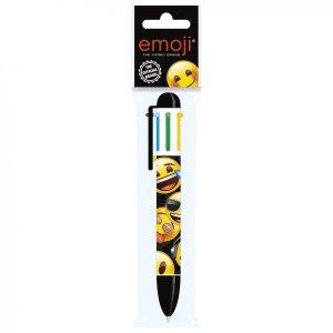 Długopis 6 kolorów Emoji EMOTIKONY (D6KEM10)