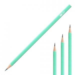 Ołówek kwadratowy TREND HB Turkusowy HAPPY COLOR (42874)