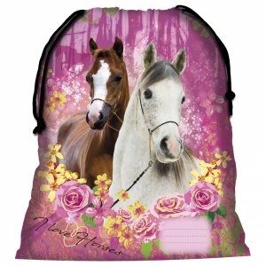 Worek na obuwie I LOVE HORSES Konie (WOKO15)