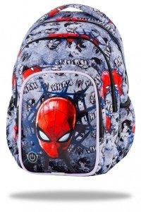 Plecak CoolPack SPARK LED  Spiderman na szarym tle, SPIDERMAN BLACK (B45303)