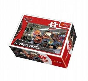 TREFL Puzzle mini 54 el. CARS Auta (19398)