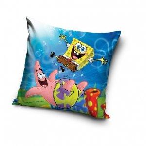 Poszewka na poduszkę  Spongebob Kanciastoporty 40 x 40 cm (SBOB192015)