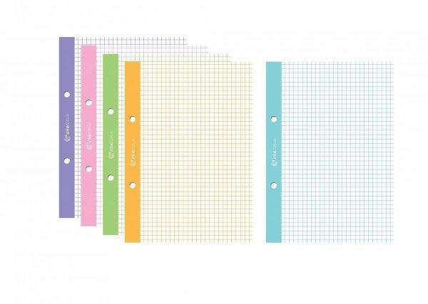 Wkład do segregatora A5 5 x 50 kartek (86799)